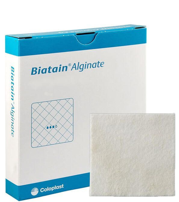 Curativo Biatain Alginato de Cálcio 10x10