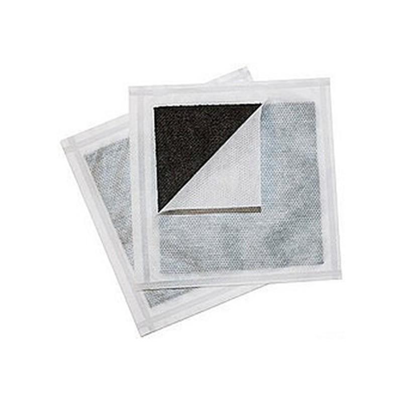 Curativo Carvão Ativado com Prata Curatec 10,5X10,5 10 Und