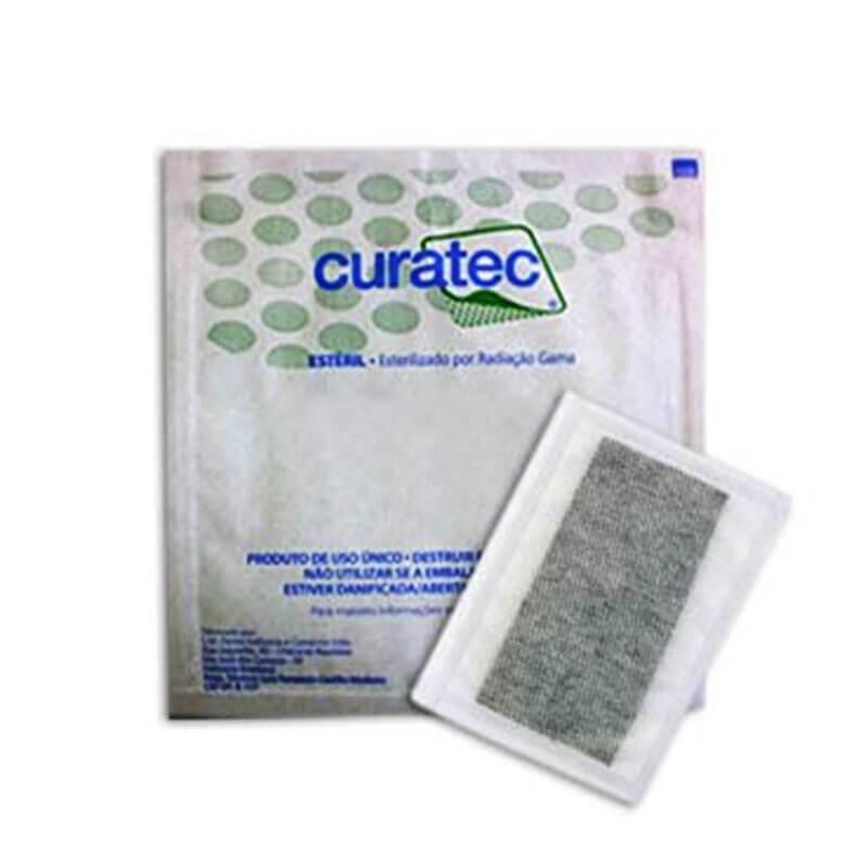 Curativo Carvão Ativado com Prata Curatec 10X20