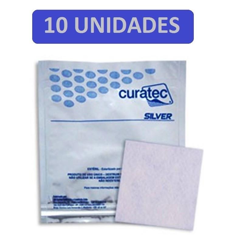 Curativo Curatec Silver IV 10x10 com10 unidades