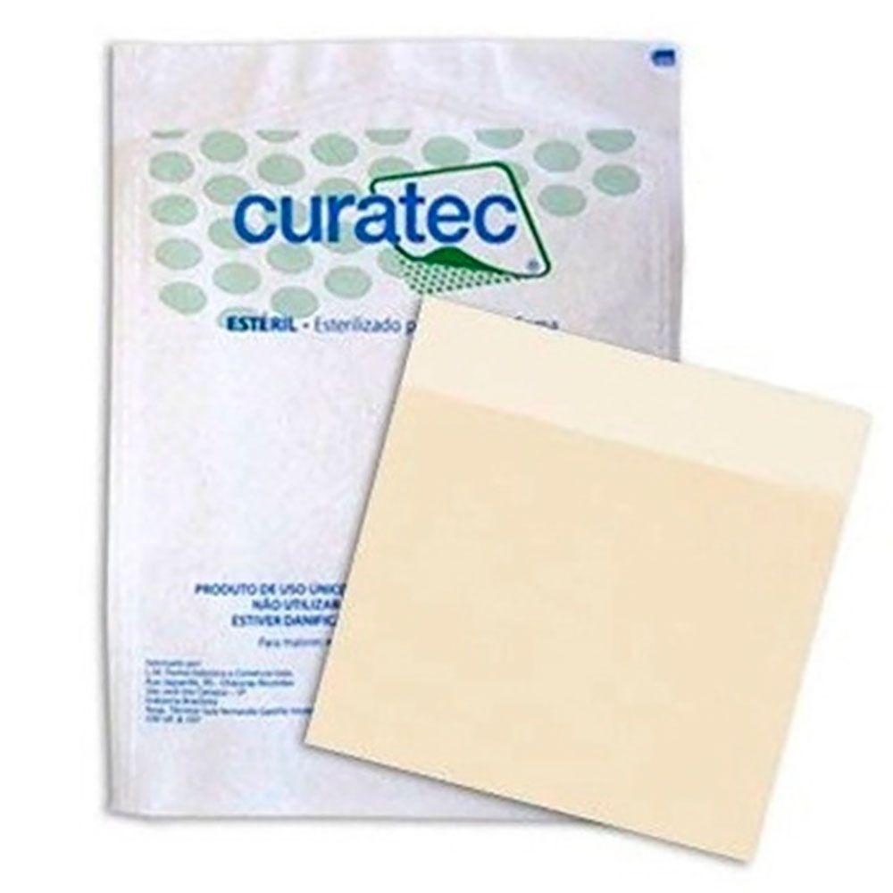 Curativo Hidrocoloide Curatec 20x20- Kit c/10 Unidades