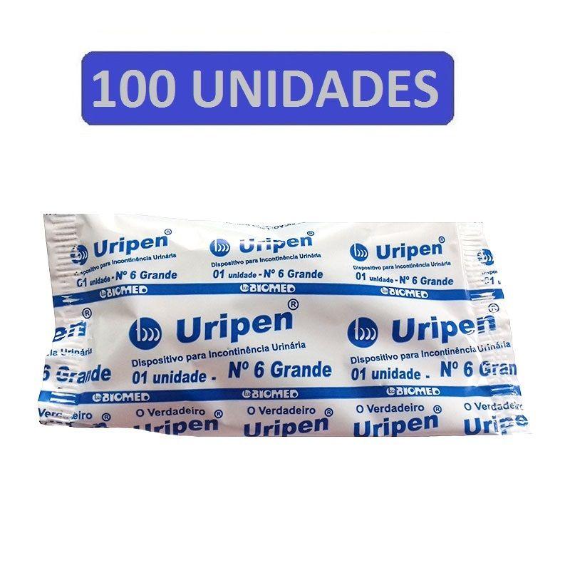 Dispositivo Para Incontinência Urinária Uripen N6 100 Und