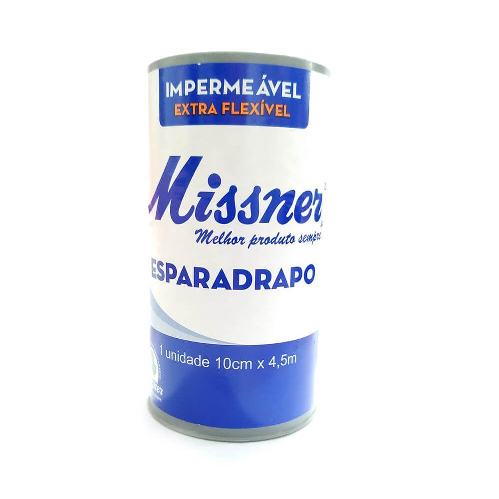 Esparadrapo  10 cm x 4,5 m - Missner / 12 unidades