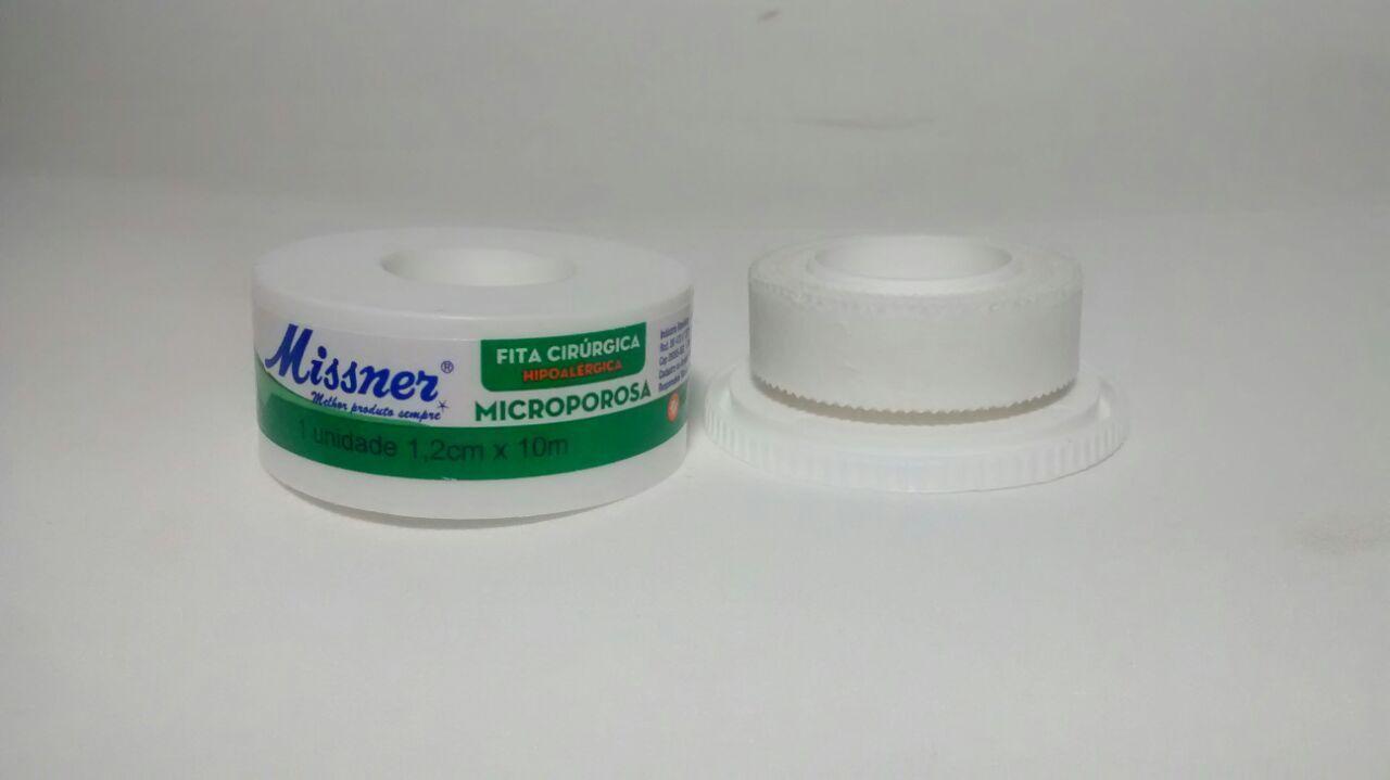Fita Microporosa 1,2 cm x 10 m - Missner