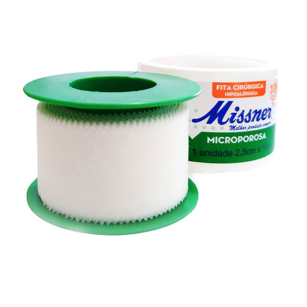 Fita Microporosa 2,5 cm x 10 m - Missner 24 unidades