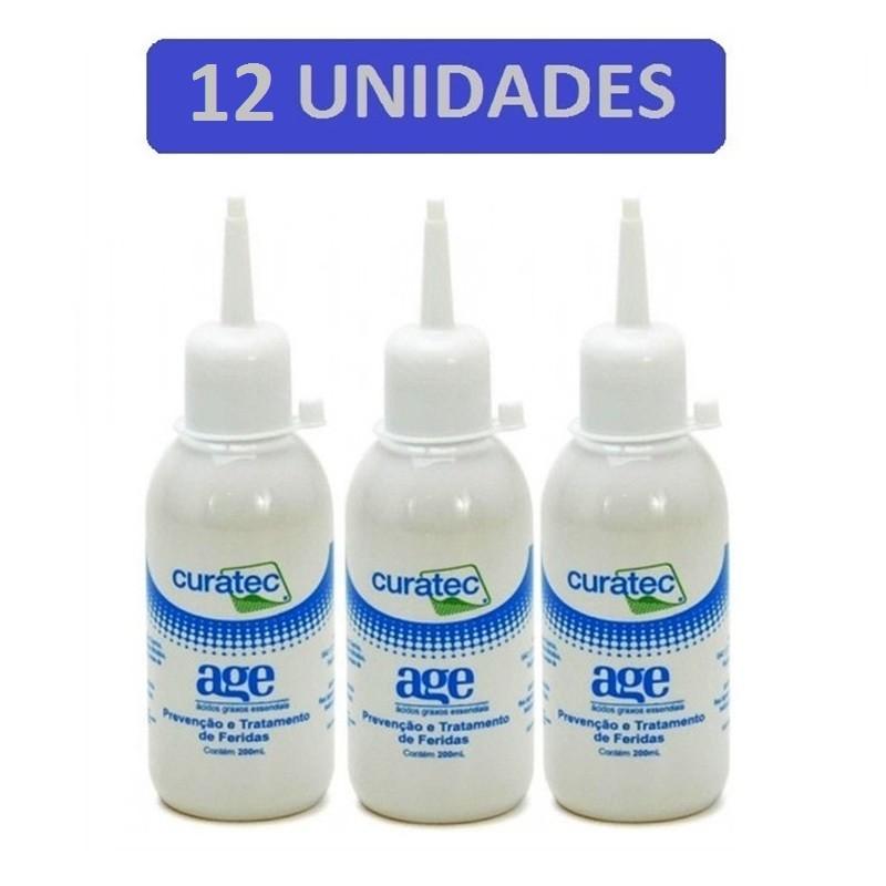 Kit 12 Unidades Óleo de Girassol Curatec AGE 200ml