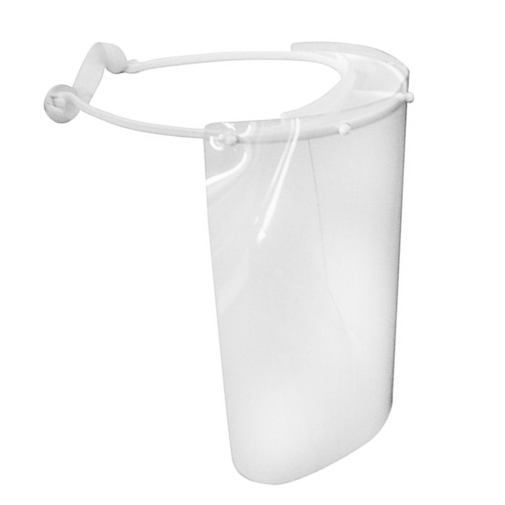 Máscara Face Shield Protetor Facial Anti Respingos Mebuki - Kit c/05 Unidades