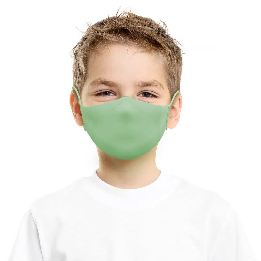 Máscara Reutilizável com Alça Sigvaris Tamanho P Verde 2 unidades