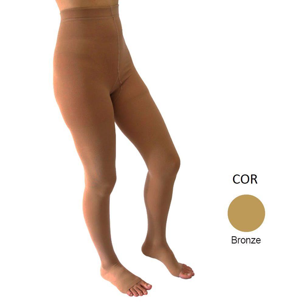 Meia Calça de Compressão Venosan 6000 30-40mmHg Cor Bronze