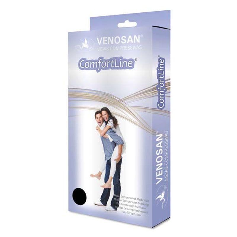 Meia Calça de Compressão Venosan Comfortline 30-40mmHg Cor Bege