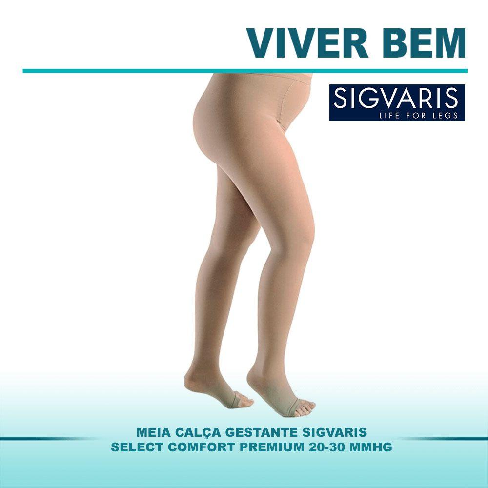 Meia Calça Gestante Sigvaris Select Comfort Premium 20-30mmHg