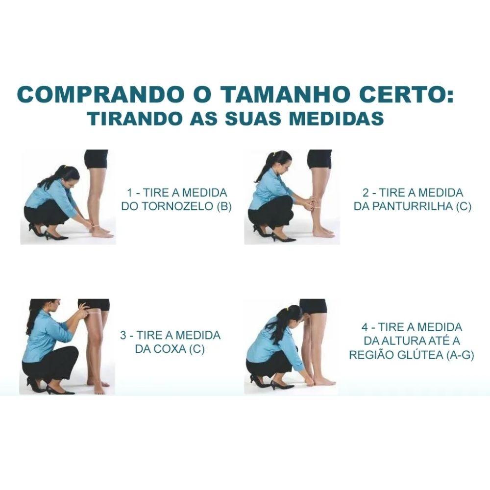 Meia Calça Gestante Sigvaris Select Comfort Premium 30-40mmHg