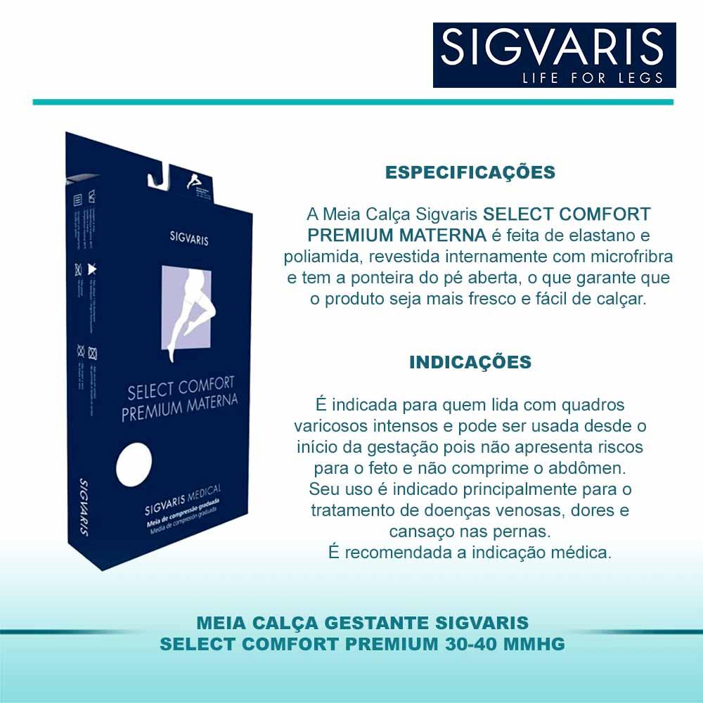 d8e0f5272 ... Meia Calça Gestante Sigvaris Select Comfort Premium 30-40mmHg -  Cirúrgica Viver Bem ...