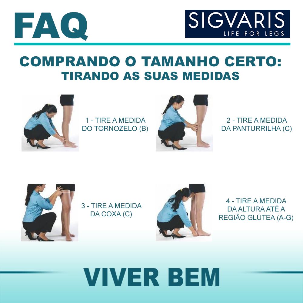 abbd447a3 ... Meia de Compressão Sigvaris Basic 7 8 20-30mmHg Cor Bege - Cirúrgica  Viver ...