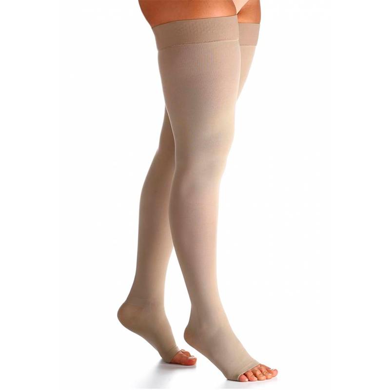 Meia Sigvaris 7/8 Select Comfort Premium 20-30mmHg Cor Natural