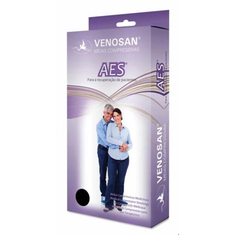 Meia de Compressão Venosan AES Antiembolia 7/8 18mmHg Cor Branca