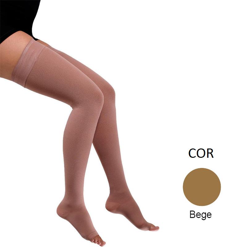 Meia de Compressão Venosan Comfortline 7/8 20-30mmHg Cor Bege