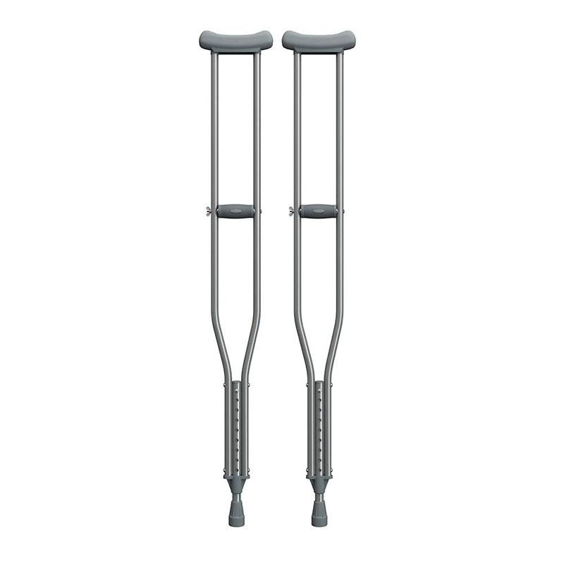 Muleta Axilar de Alumínio - Tamanho M - Mercur