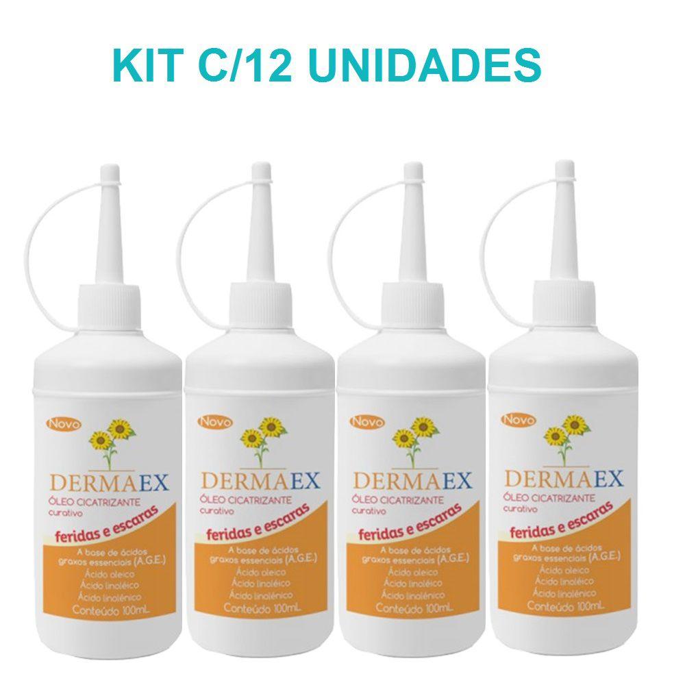 Óleo de Girassol Dermaex 100ML com 12 Unidades