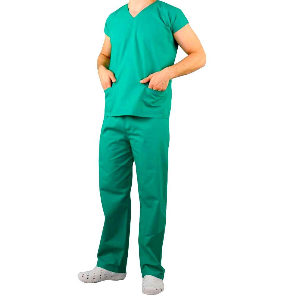 Pijama Cirúrgico Unissex Namaste Verde Claro