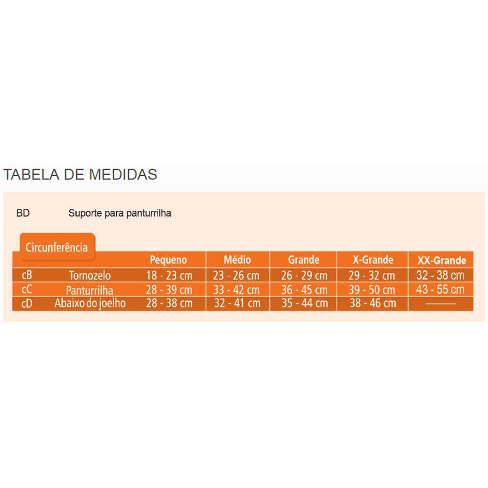 Polaina de Compressão Venosan SportActive 20-30mmHg Preta