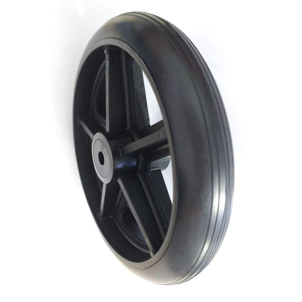 Roda traseira aro 6 furo 8mm Par Jaguaribe