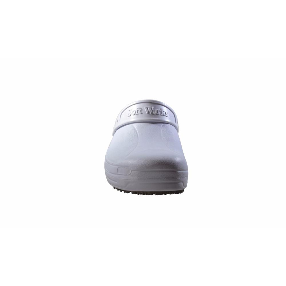 Sandália Profissional Babuch Branca Soft Works BB60