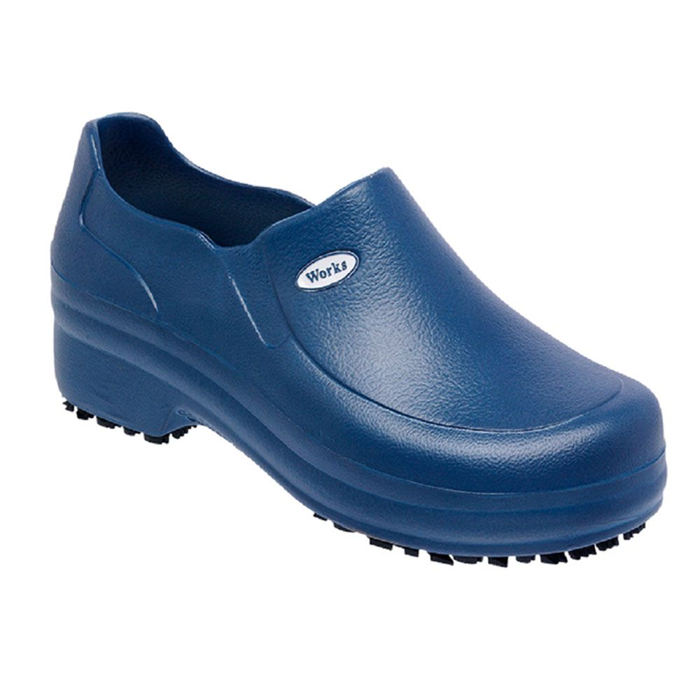 Sapato Profissional Azul Marinho Soft Works BB65