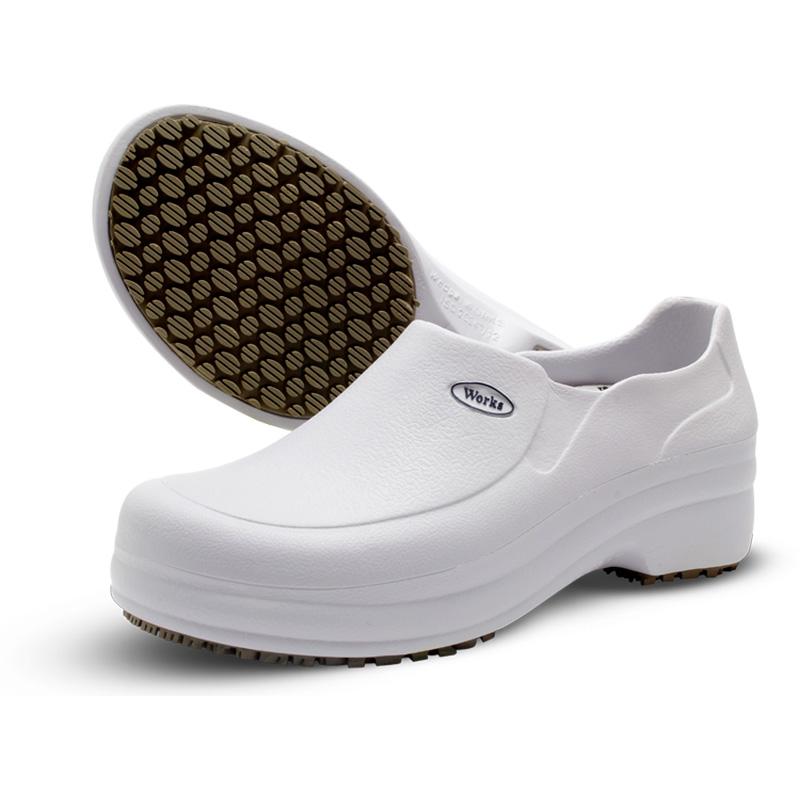 Sapato Profissional Branco Soft Works BB65