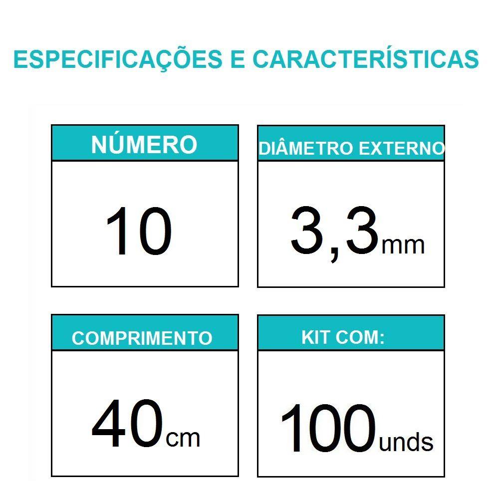Sonda Uretral Calibre 10 - Mark Med / 100 unidades