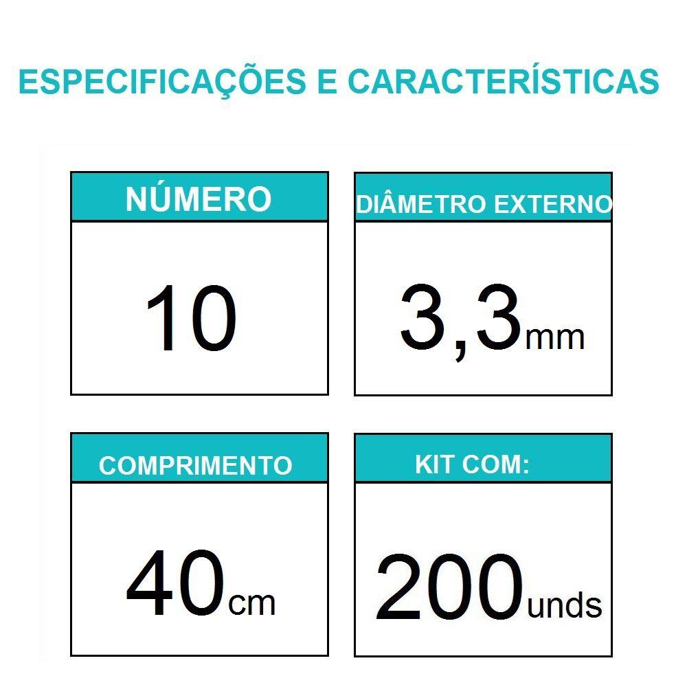 Sonda Uretral Calibre 10 - Mark Med / 200 unidades