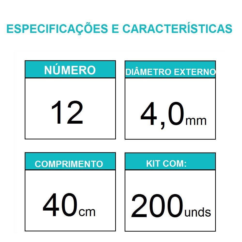 Sonda Uretral Calibre 12 - Mark Med / 200 unidades