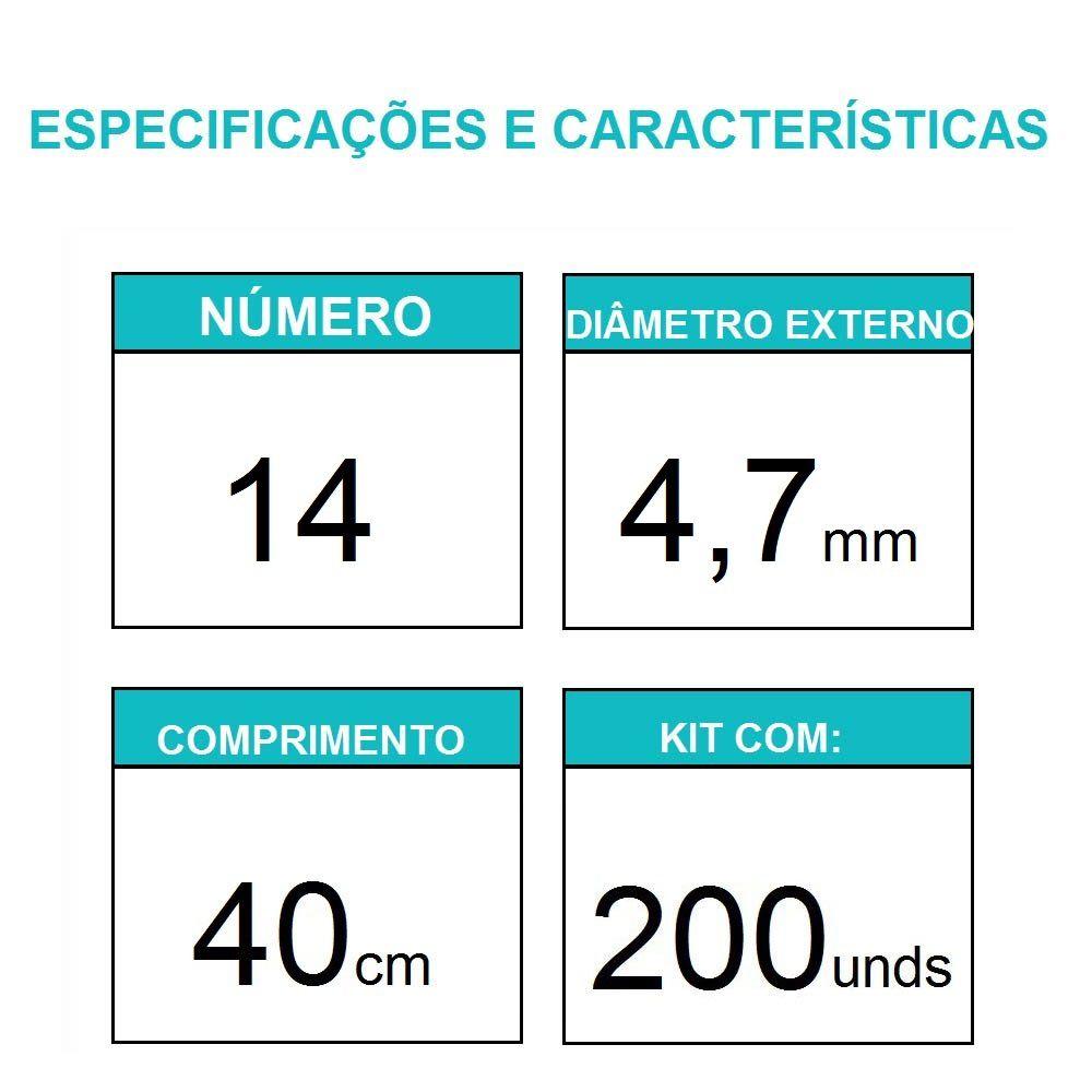 Sonda Uretral Calibre 14 - Mark Med / 200 unidades