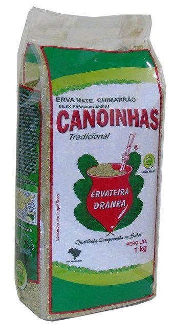 Erva Mate Canoinhas Tradicional Média - 1Kg