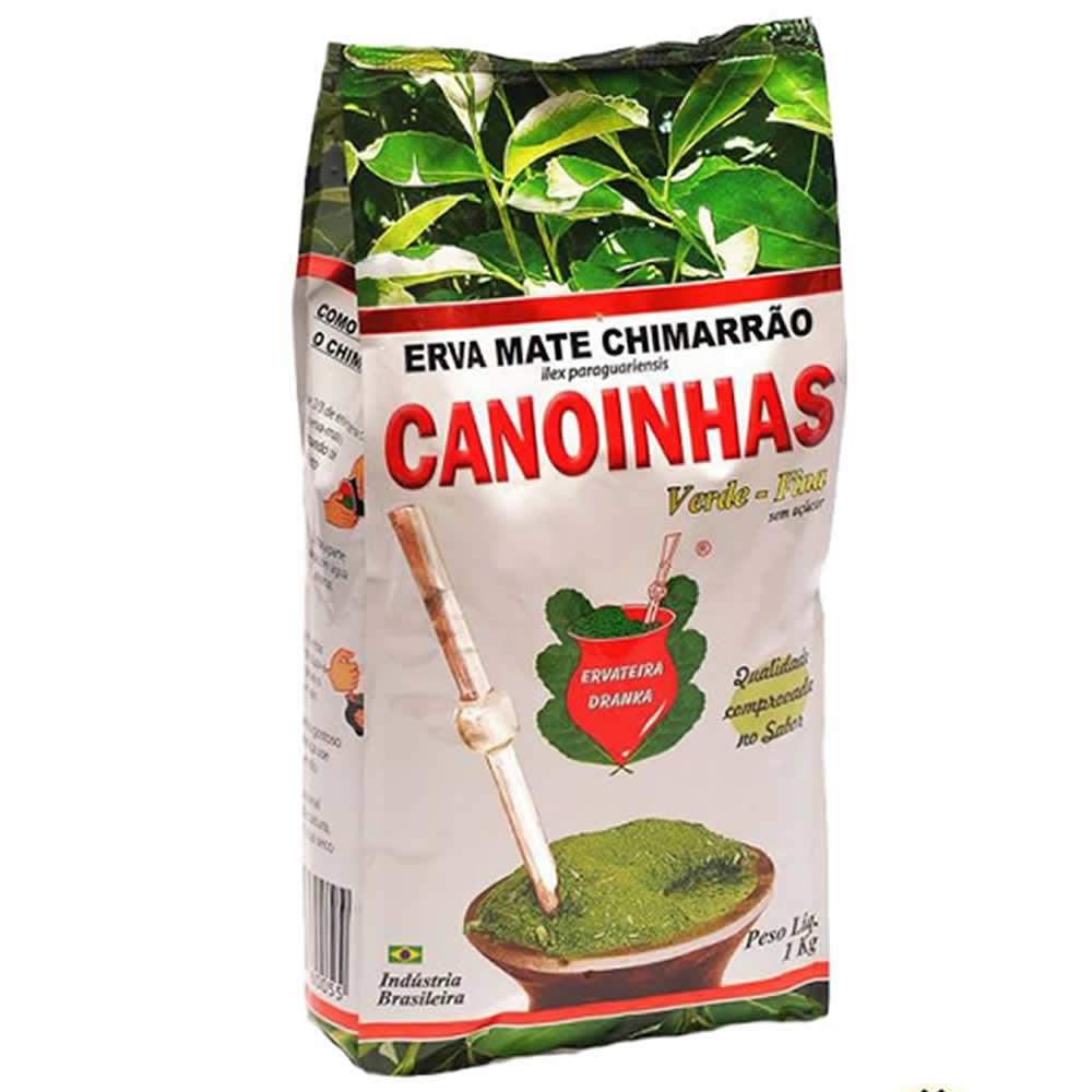 Erva Mate Canoinhas Verde Fina - 1kg