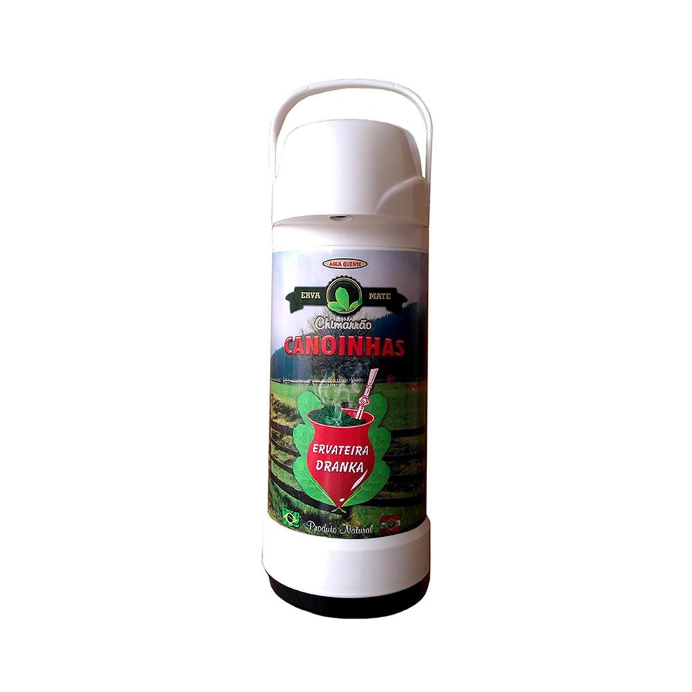 Garrafa Térmica Branca Invicta 1 L Personalizada