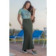 93134 - T- shirt em malha c/ estampa (COM ELASTANO)