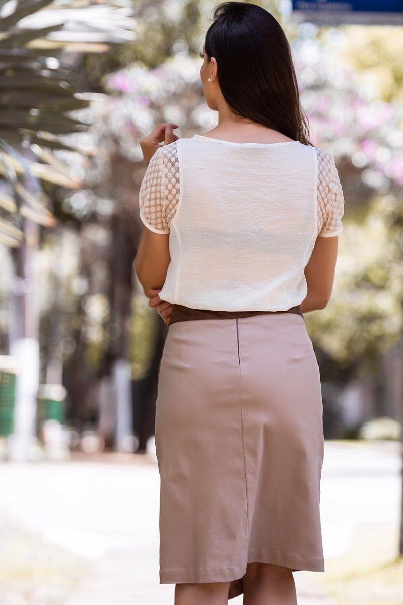 92309 - blusa em crepe bordada