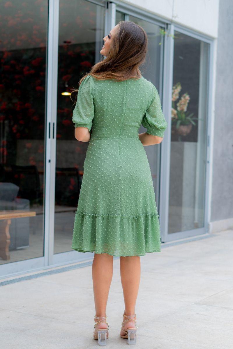93013-vestido em chiffon piponha (sem elastano)