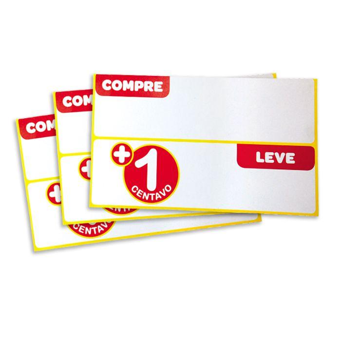 Cartaz Papel Cartão Compre e Leve 14,8x23cm 25 un