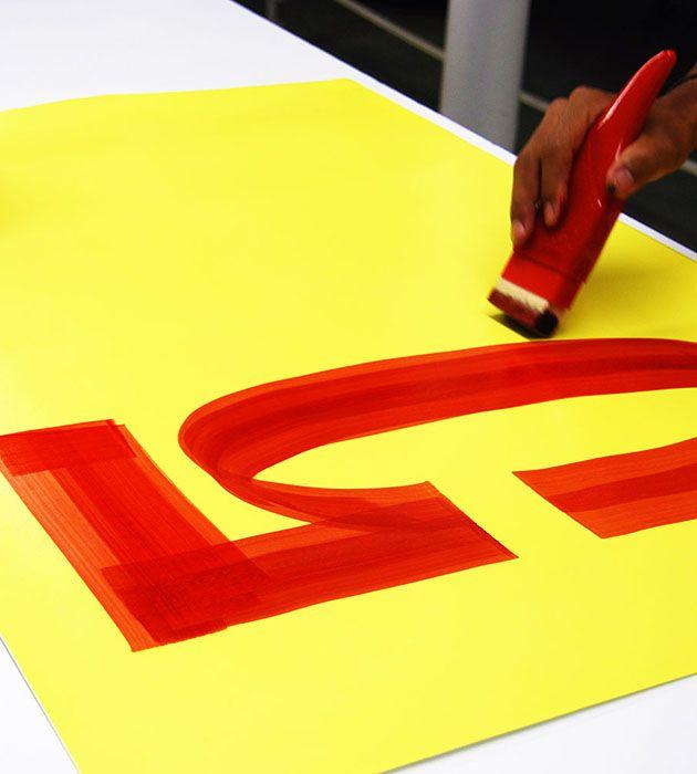 Cartaz Papel Cartão Liso Amarelo 77x113cm 100 un