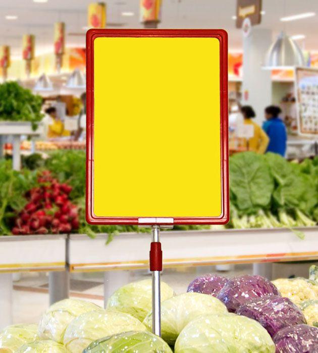 Cartaz Papel Cartão Liso Amarelo A6 100 un