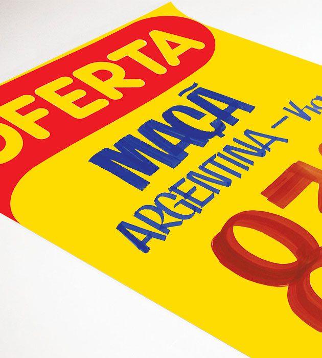 Cartaz Oferta A2 100 un