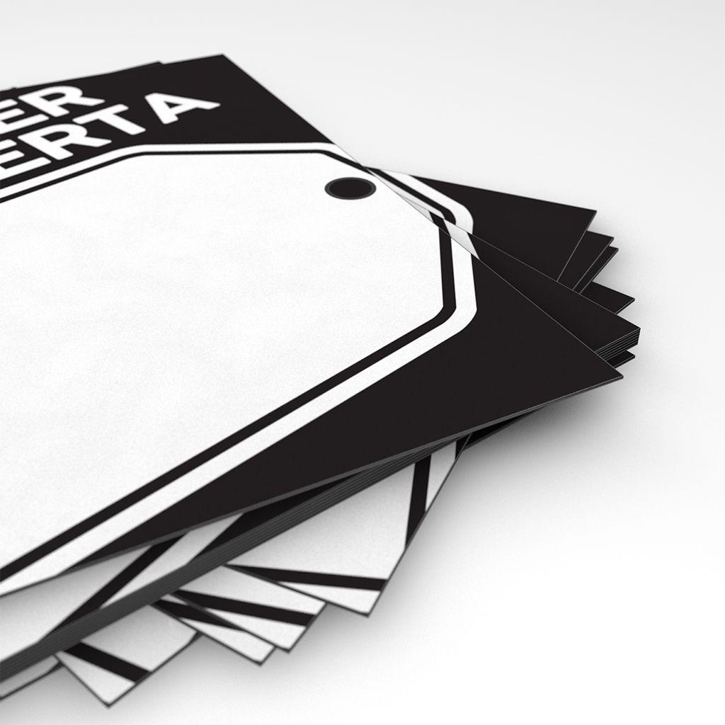 Cartaz Papel Cartão  Super Oferta A4 100 un