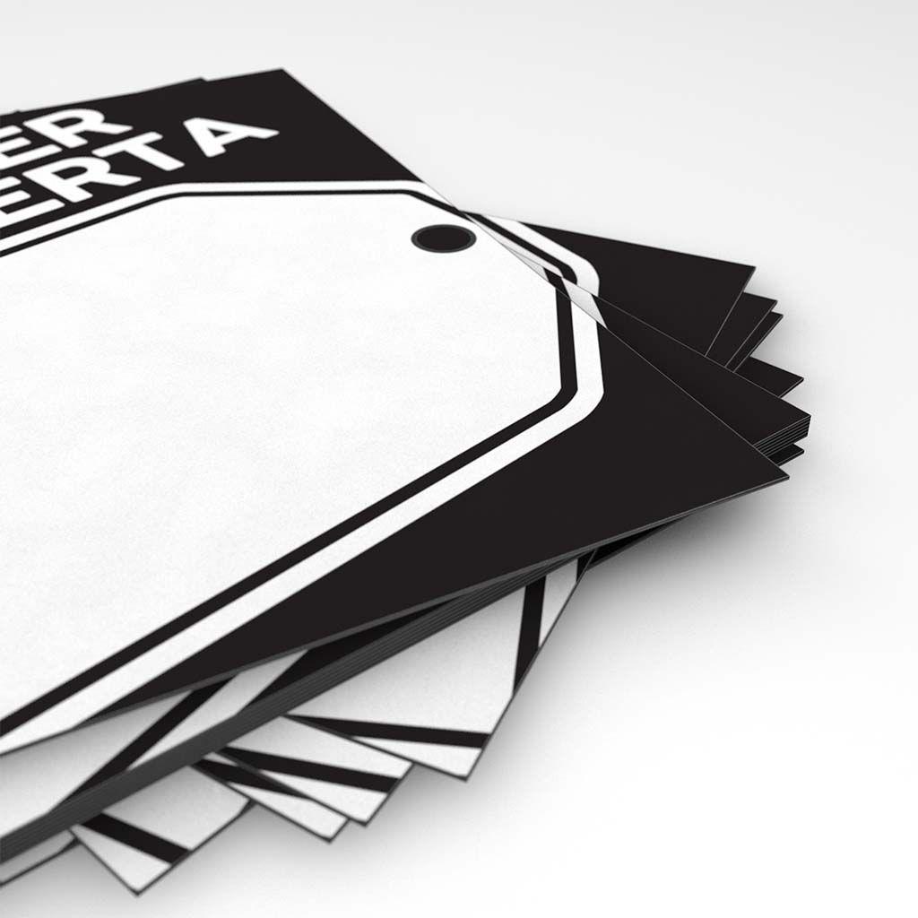 Cartaz Papel Cartão Super Oferta A6 100 un