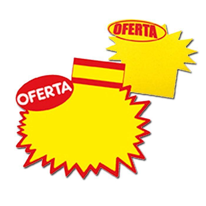 Combo Cartazes Splash Oferta 29x40cm + 11x16cm + 7x10cm