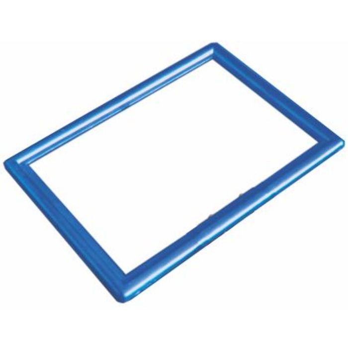 Frame Moldura Azul A4