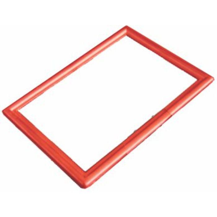 Frame Moldura Vermelho A4