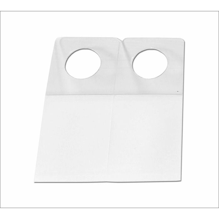 Hang Tab Transparente 100x170x250mm 2000 un