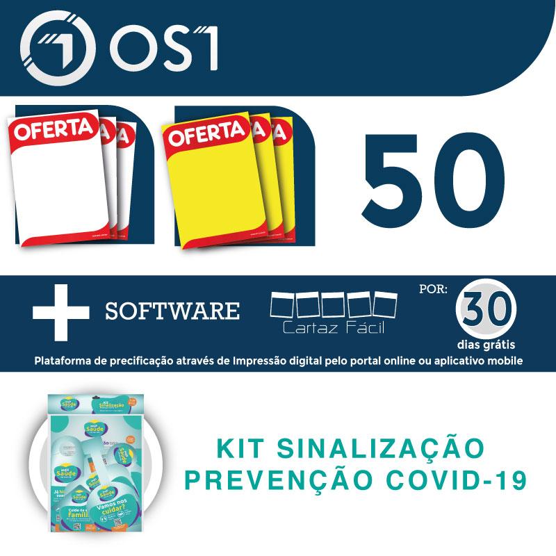 Kit OS1 Cartaz Fácil